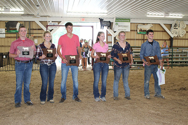 4-H Beef Project 2016 Awards