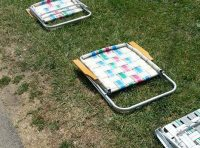 lawn chair row